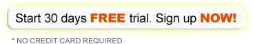 Start 30 days free trial! Sign up now!