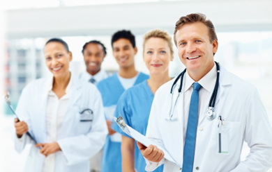 Doctors using Live Chat software