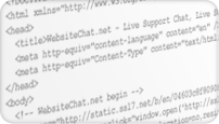 Live Chat HTML code