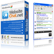 WebsiteChat.net software box