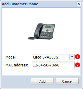 Add Customer Phone
