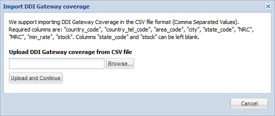 DDI Gateways Custom Stock
