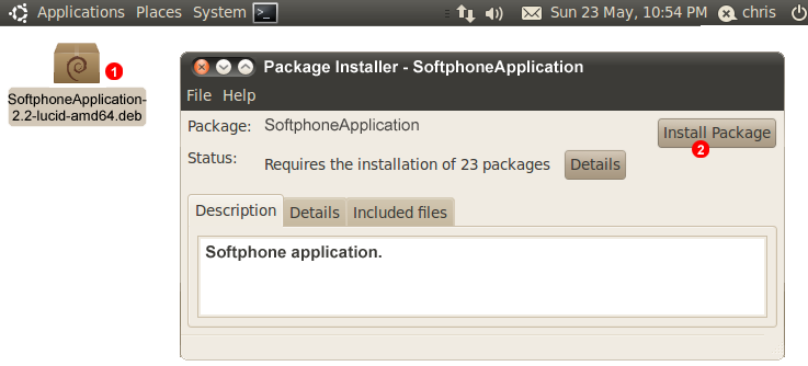 Linux set up package