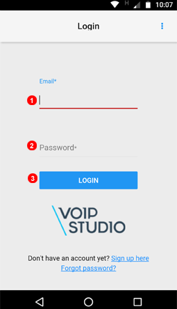App Login