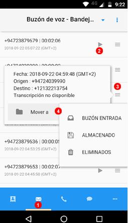 App buzón de voz